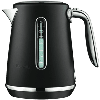 Breville - The Soft Top Luxe Kettle - Black Truffle